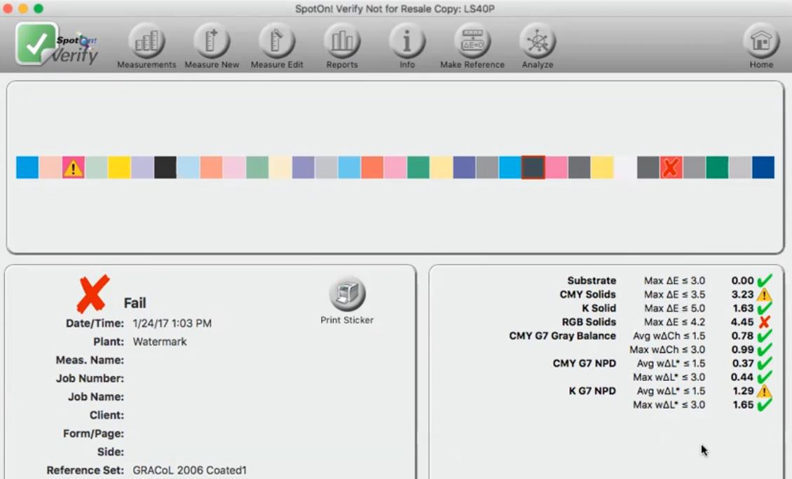 Image of SpotOn Verify Control Strip